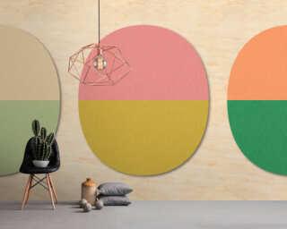 Photo wallpaper «split ovals 2» DD114557