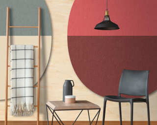 Photo wallpaper «split ovals 3» DD114562