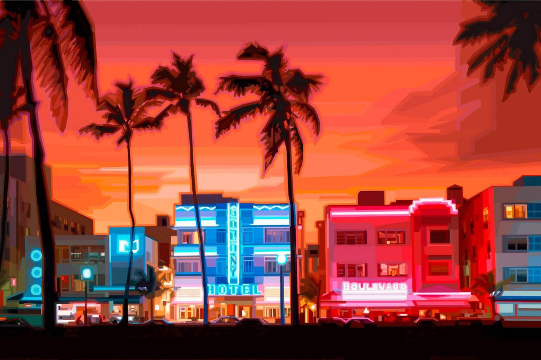 Livingwalls Photo Wallpaper 171 Beach Boulevard 187 036600