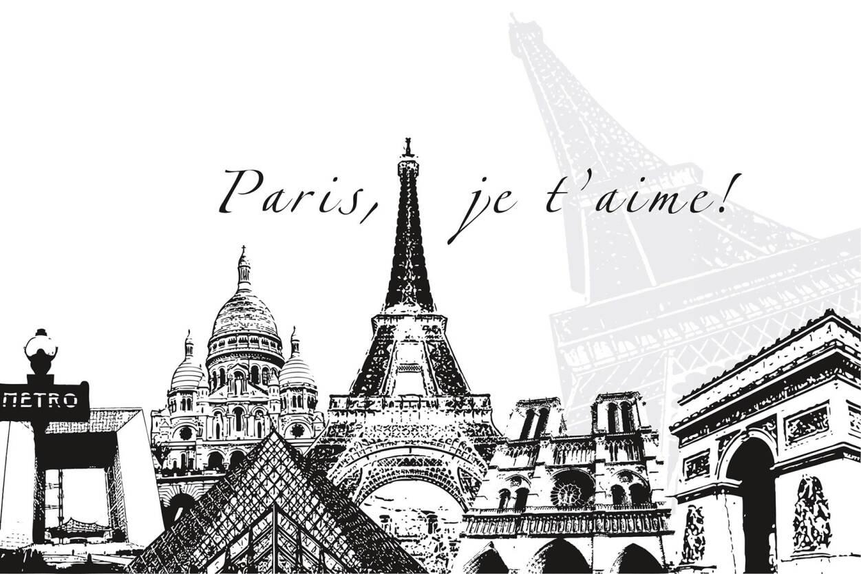 Livingwalls Photo Wallpaper Paris 036630