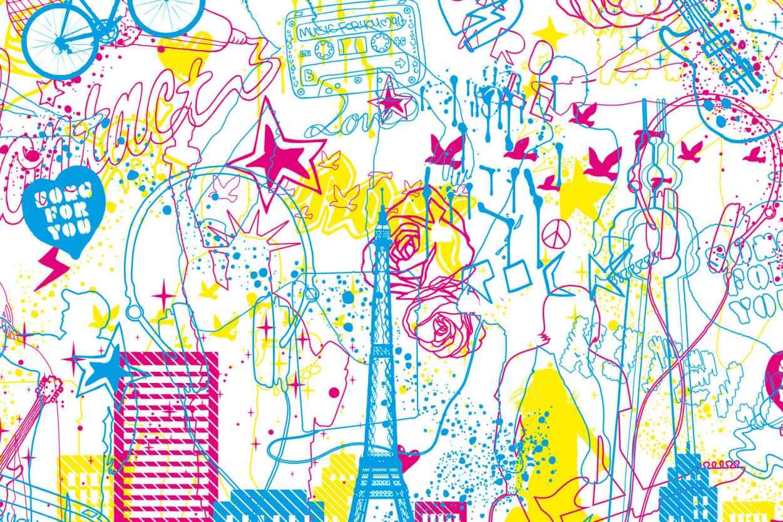 Architects Paper Фотообои Music City 470025