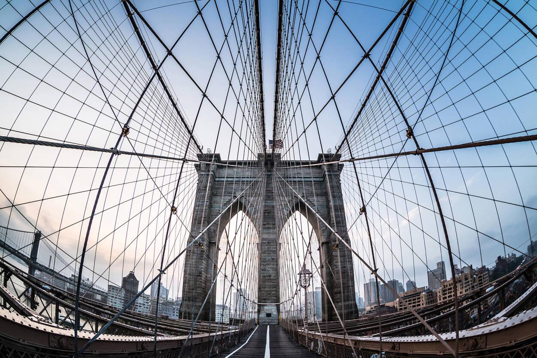 Architects Paper Photo Wallpaper Brooklyn Bridge 470475