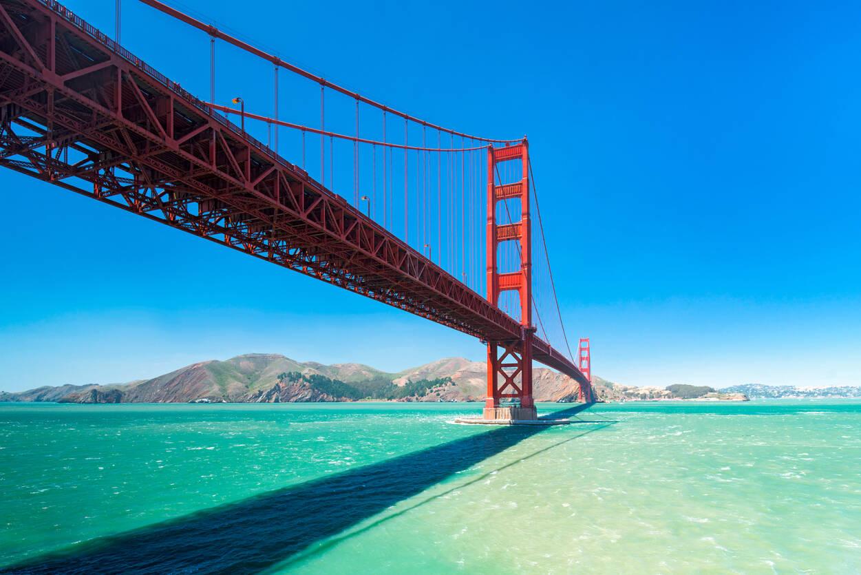 Livingwalls Photo wallpaper Golden Gate 470599