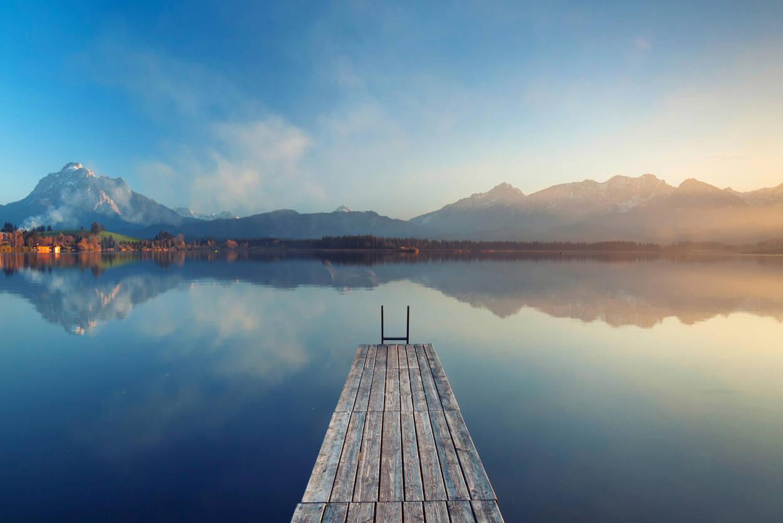 Livingwalls Photo wallpaper Lake Calm 2 470637
