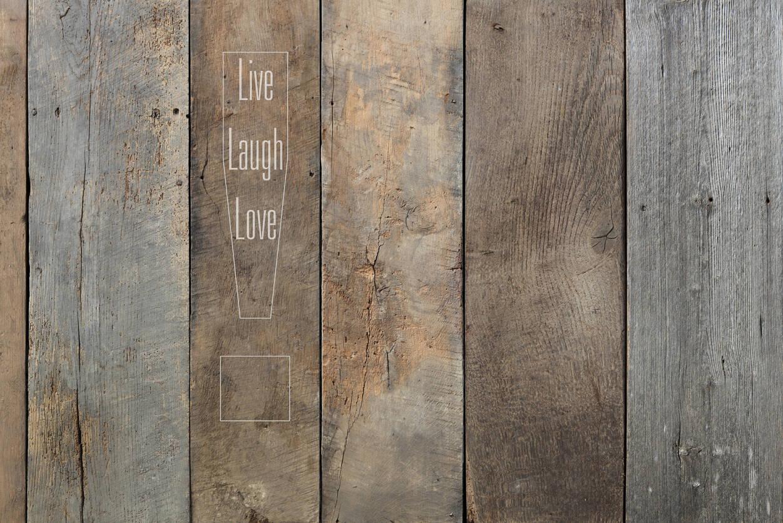 Livingwalls Photo wallpaper Live laugh... 470705