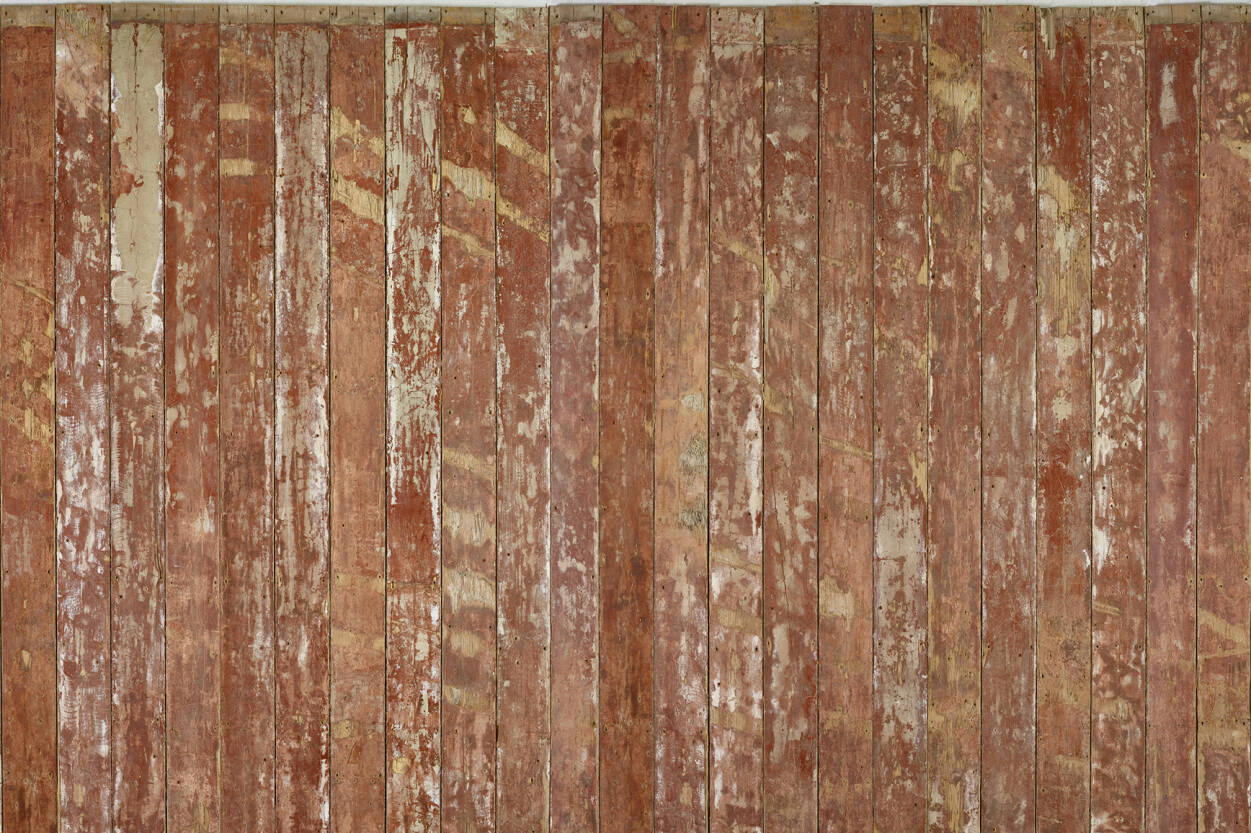 Top Architects Paper Photo wallpaper «Old Wooden Floor Red» 470870 RQ24