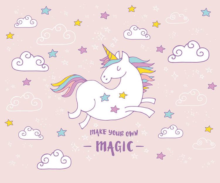 Livingwalls Фотообои Unicorn Magic Pink L 470936