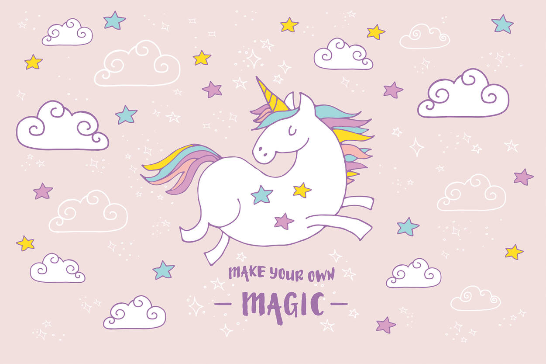 Livingwalls Фотообои Unicorn Magic Pink XXL 470936