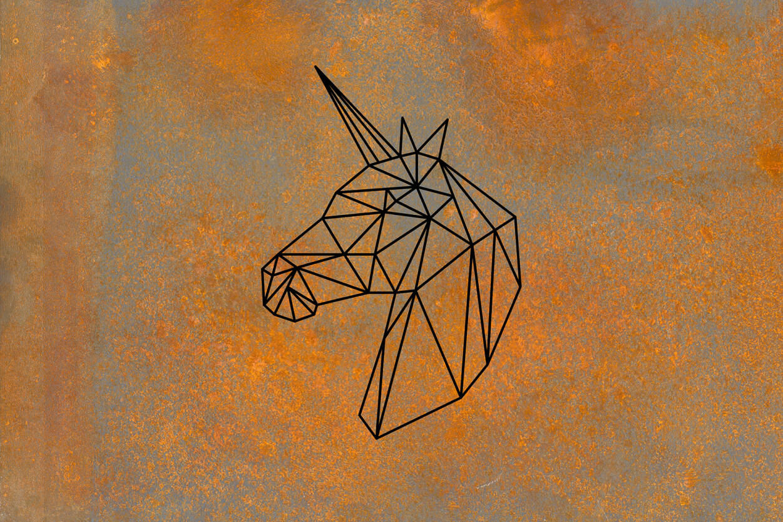 Livingwalls Fototapete Unicorn Iron 470940