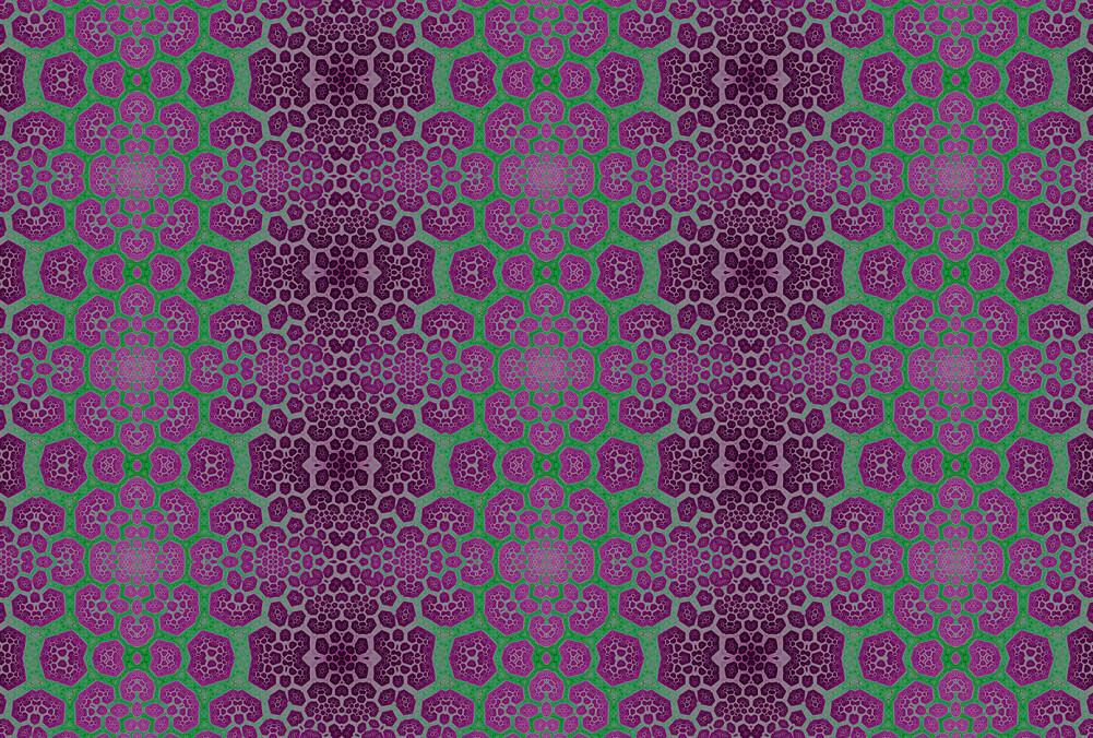Kathrin und Mark Patel Photo wallpaper fractal 1 DD111161