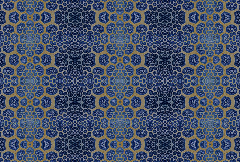 Kathrin und Mark Patel Photo wallpaper fractal 2 DD111166