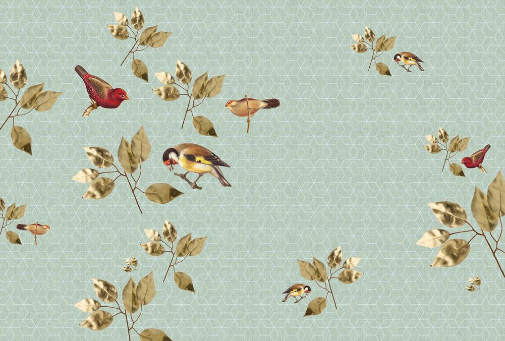 Kathrin und Mark Patel Photo wallpaper brillantBirds2 DD114327