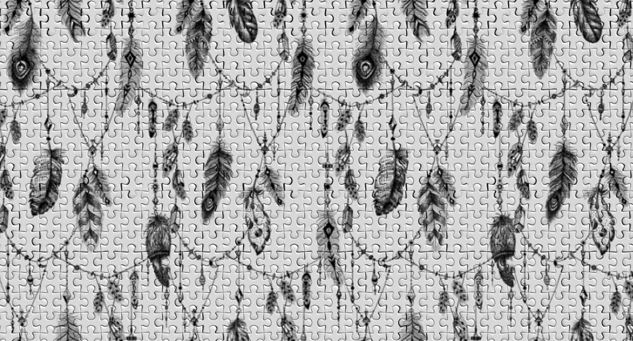 Architects Paper Photo wallpaper FeatherPuzzle1 DD117590