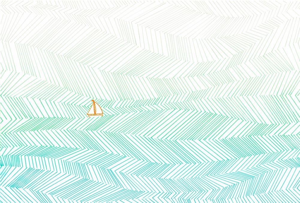 Architects Paper impression numérique WavesArtWork3 DD117690
