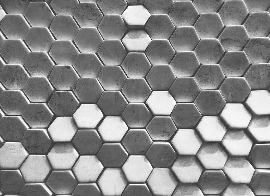 Livingwalls impression numérique HexagonSurf.1 DD118722