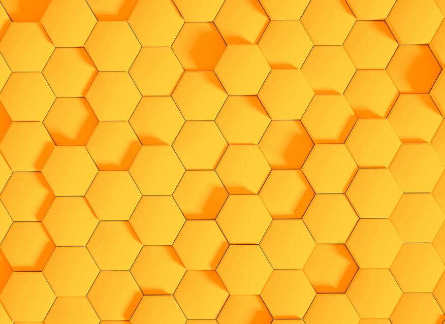 Livingwalls impression numérique HoneyComb2 DD118728