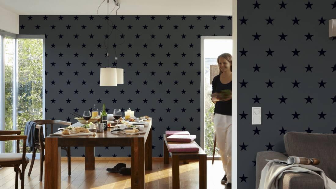 michalsky living tapete 325213. Black Bedroom Furniture Sets. Home Design Ideas
