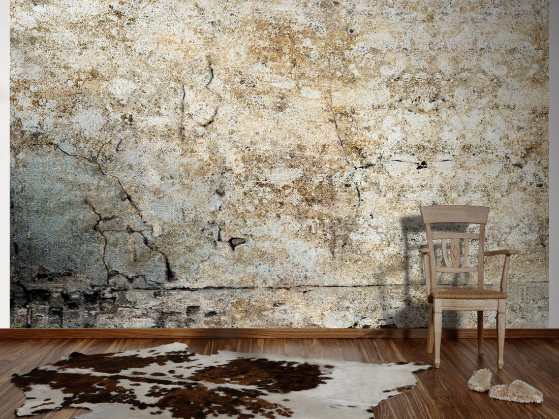 livingwalls fototapete alte verputzte wand xl 036733. Black Bedroom Furniture Sets. Home Design Ideas