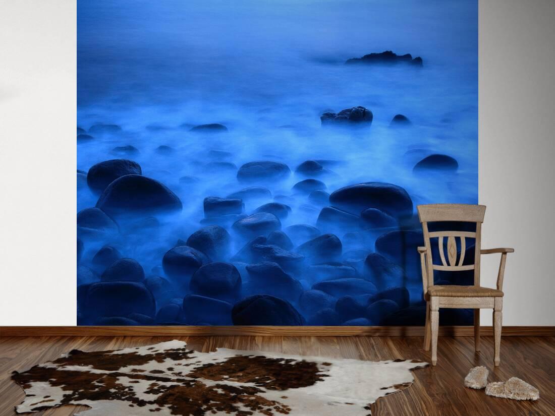 livingwalls fototapete steine im nebel l 470314. Black Bedroom Furniture Sets. Home Design Ideas