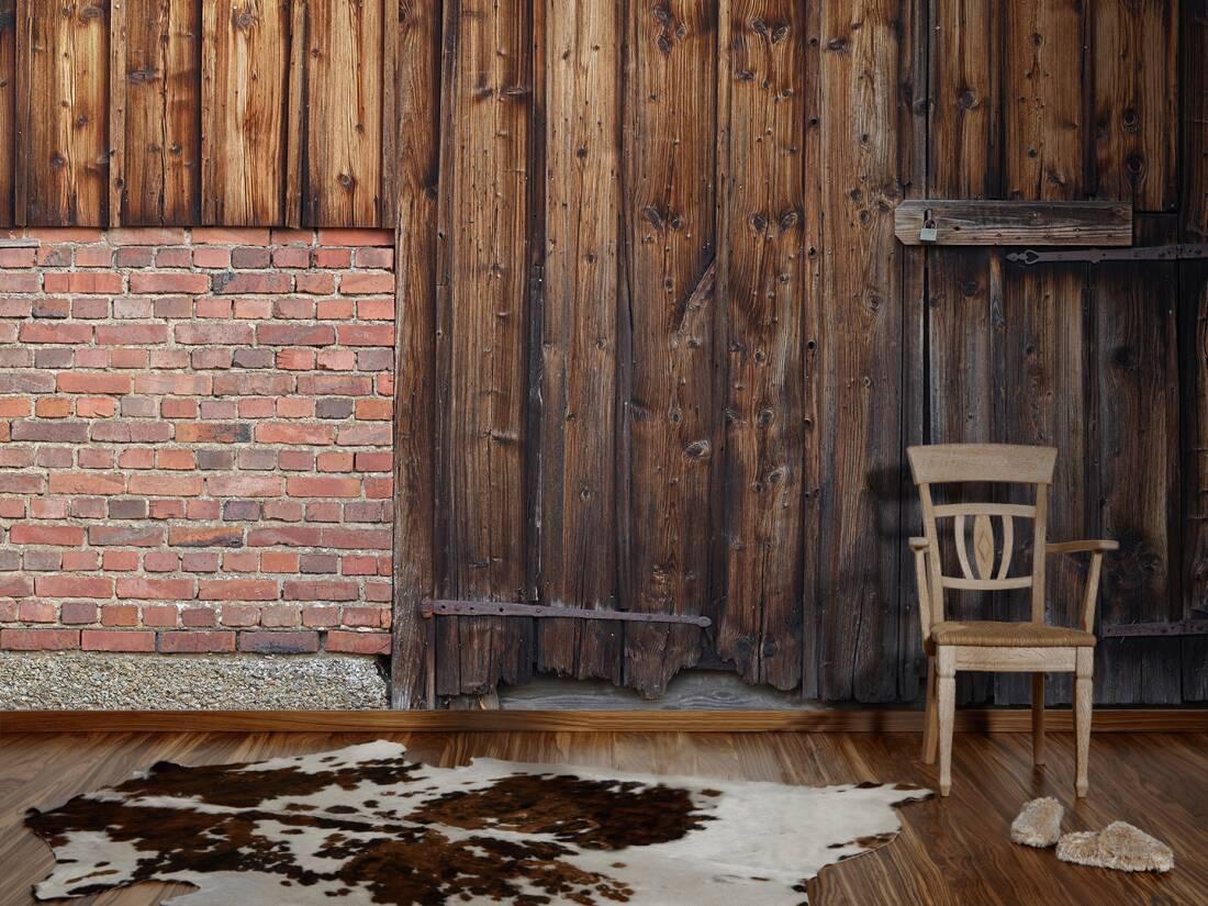Architects Paper Photo Wallpaper 171 Old Barn Door 187 470422