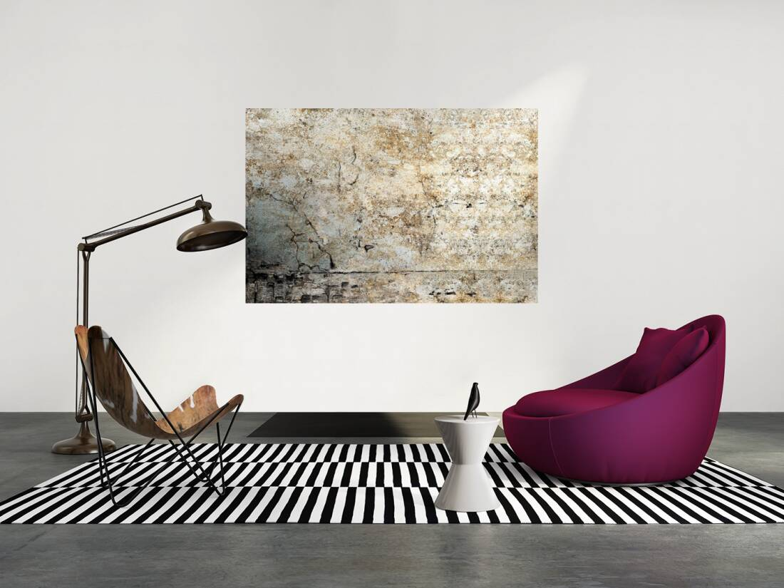 livingwalls fototapete alte verputzte wand m 036736. Black Bedroom Furniture Sets. Home Design Ideas
