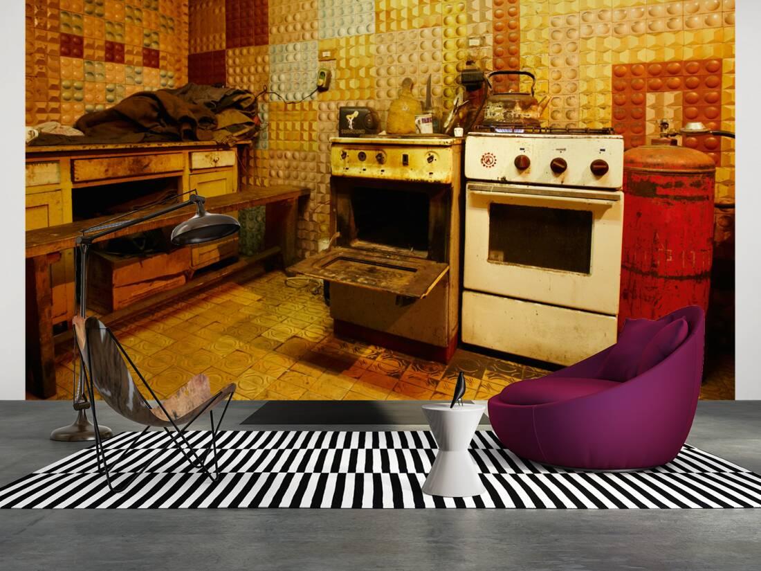fototapete f r k che. Black Bedroom Furniture Sets. Home Design Ideas