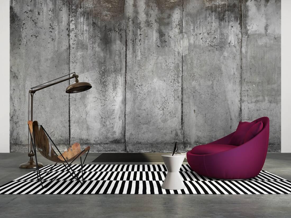 Architects paper fototapete «betonwand» 470571