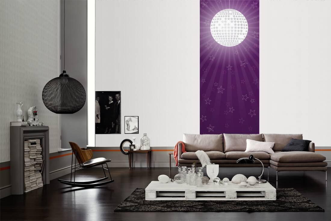 Esprit home Fotopaneel «Roller Disco Lila» 070306