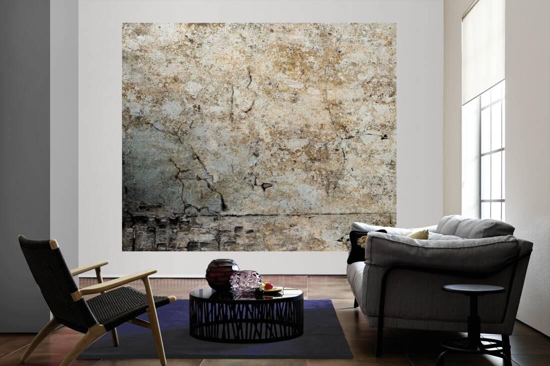 livingwalls fototapete alte verputzte wand l 036732. Black Bedroom Furniture Sets. Home Design Ideas