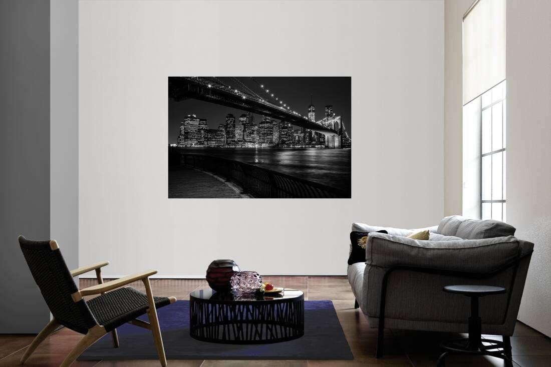 architects paper fototapete brooklyn br cke in schwarz