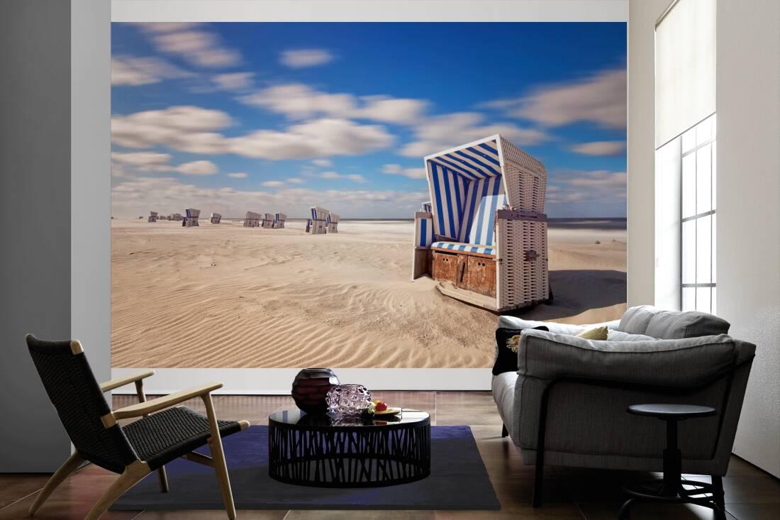 Strandkorb Wallpaper sdatec.com