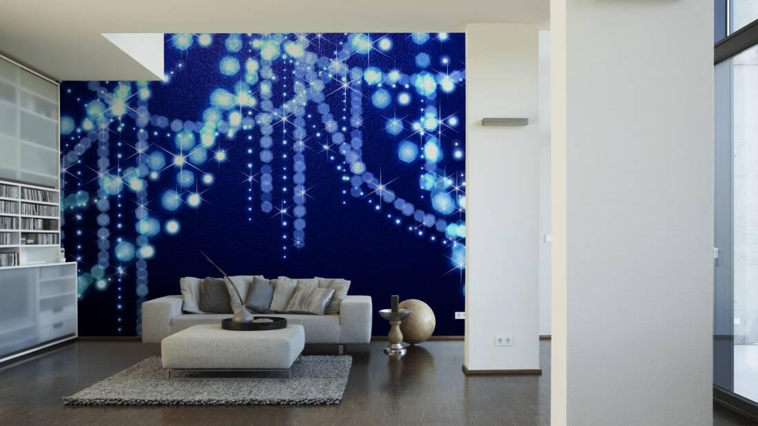 Livingwalls Fototapete Sparkle 030190; simuliert auf der Wand
