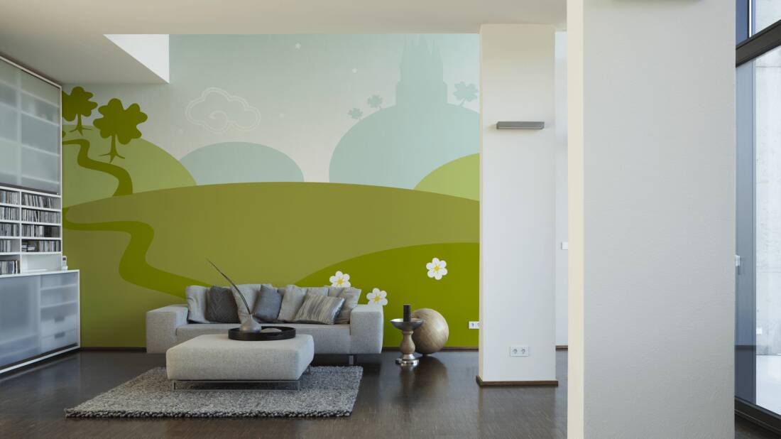 Livingwalls Fototapete Fairyland 035040; simuliert auf der Wand