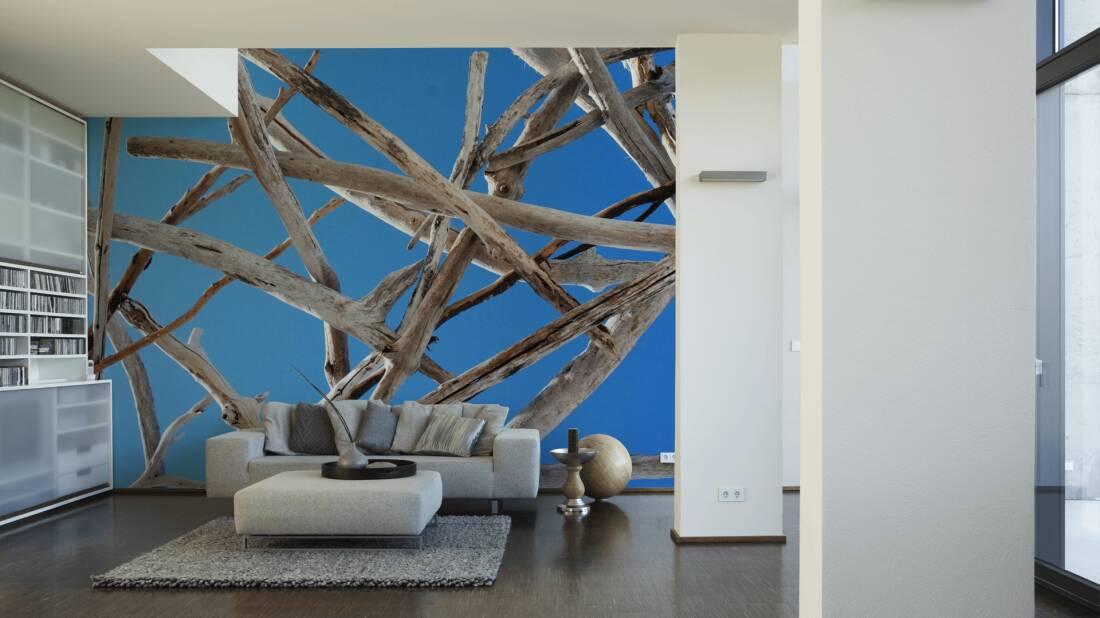 Livingwalls Fototapete Calming ceiling wallpaper - 2 037060; simuliert auf der Wand