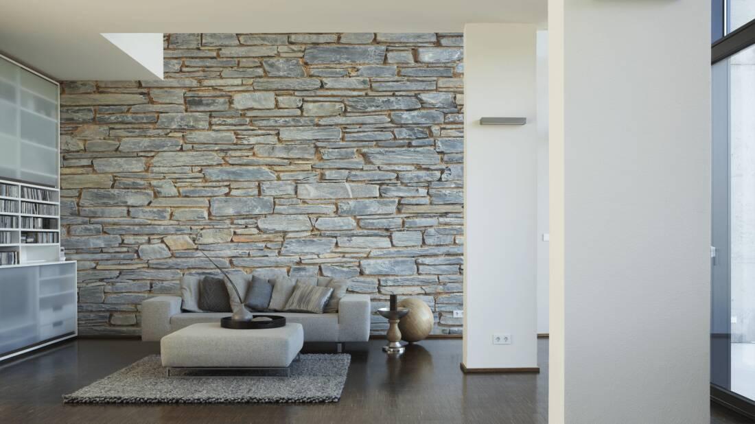 Naturstein Tapeten Design : Tapeten Wohnzimmer Bilder: Wohnzimmer ? D Wandpaneele Deckenpaneele