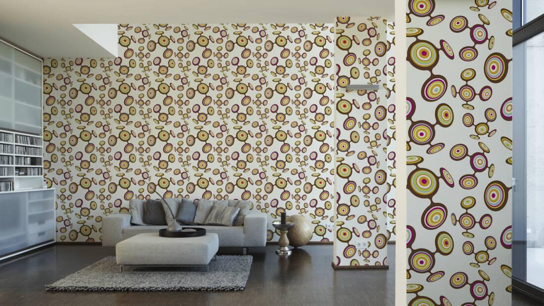 Lars Contzen Tapete 669414; simuliert auf der Wand
