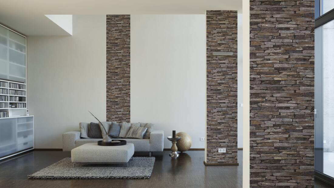 wohnzimmer tapeten ideen braun die neuesten innenarchitekturideen. Black Bedroom Furniture Sets. Home Design Ideas