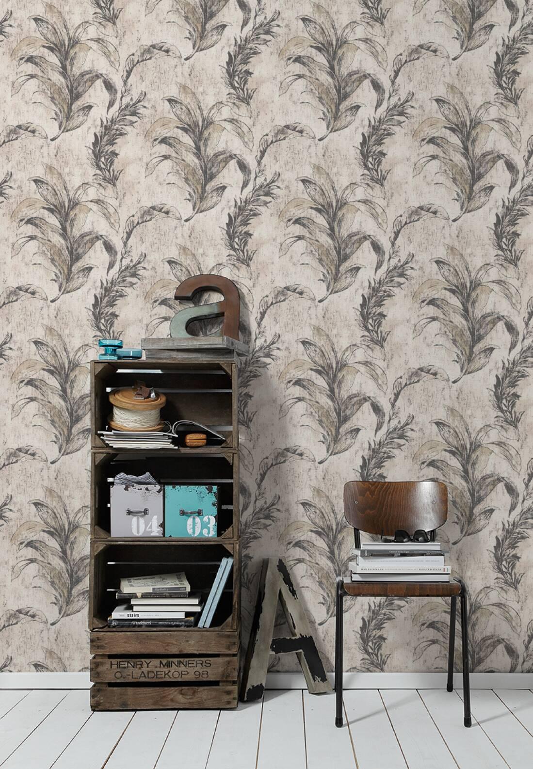 michalsky living tapete 304563. Black Bedroom Furniture Sets. Home Design Ideas
