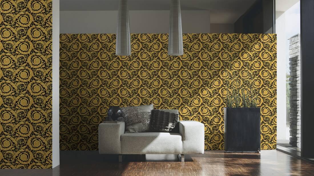 Versace home wallpaper 935834 for Wallpaper versace home