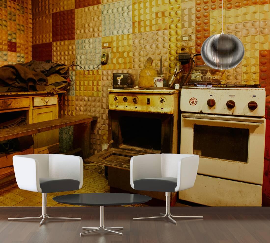 fototapete f r k chenr ckwand kreative bilder f r zu. Black Bedroom Furniture Sets. Home Design Ideas