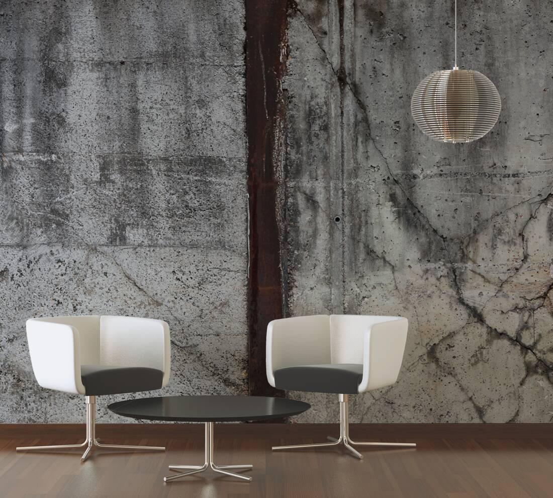 architects paper fototapete marode betonmauer xxl 470129. Black Bedroom Furniture Sets. Home Design Ideas