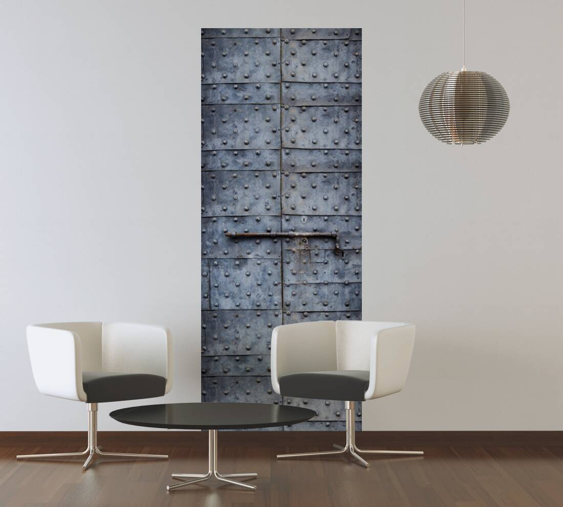 livingwalls fotopaneel alte stahlt r 475723. Black Bedroom Furniture Sets. Home Design Ideas