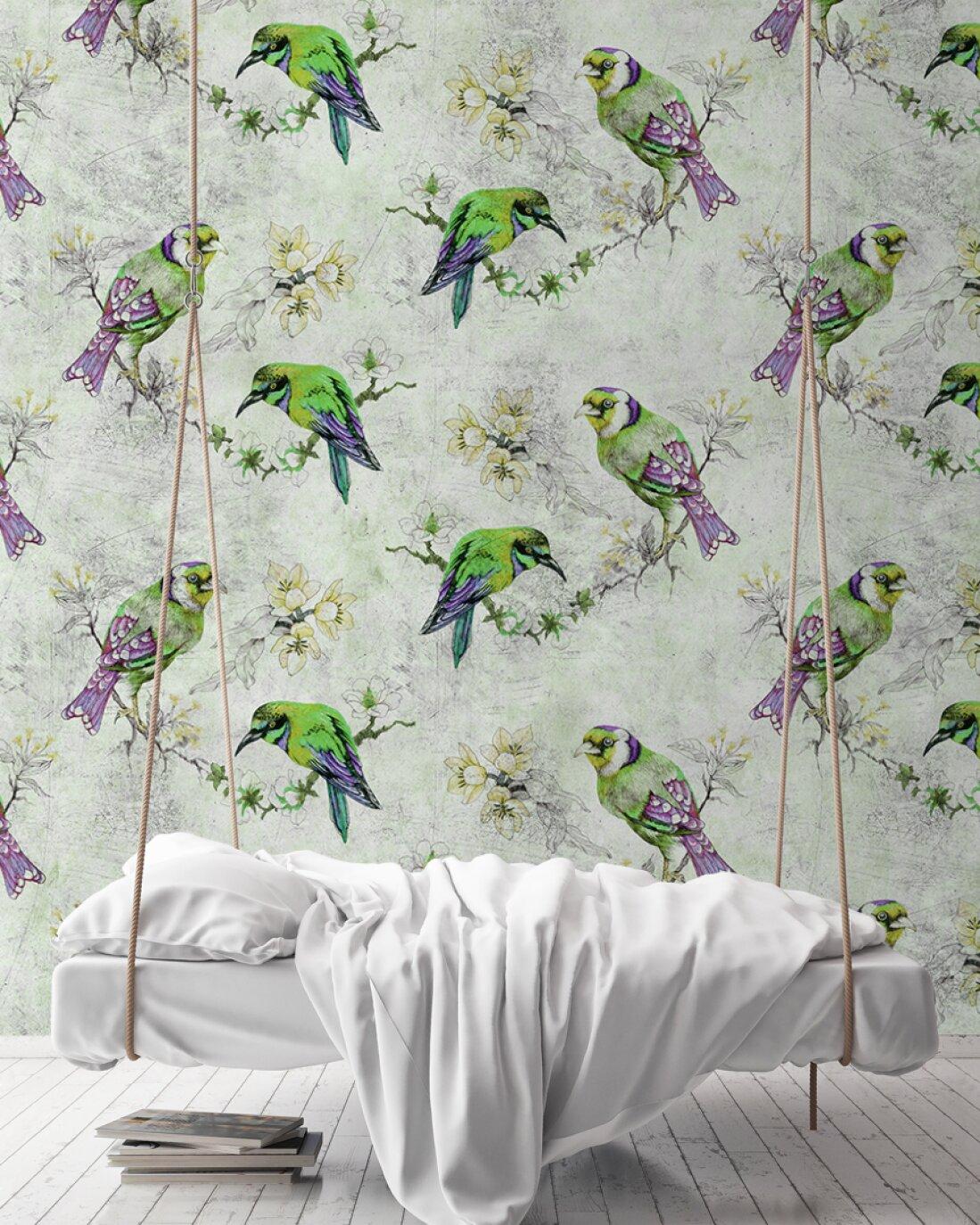 Kathrin und Mark Patel Photo wallpaper «love birds 2