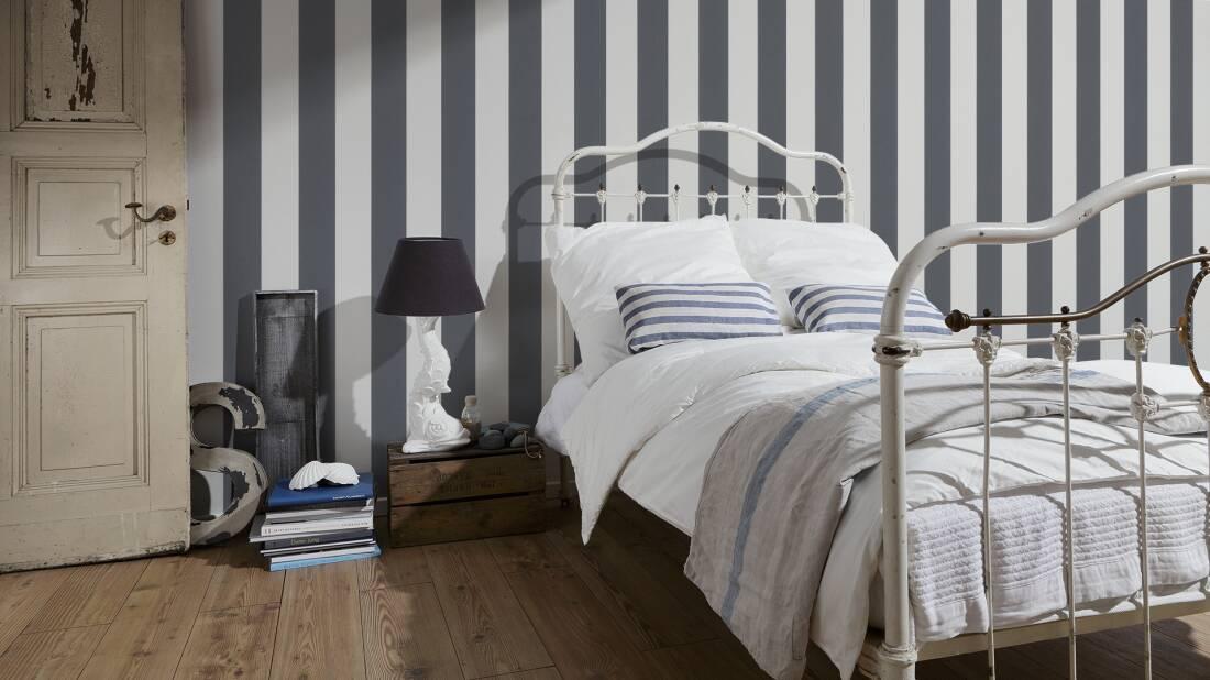 Tapete Schwarz Weis Schlafzimmer ~ Inspiration Layout In Ihrem Zuhause
